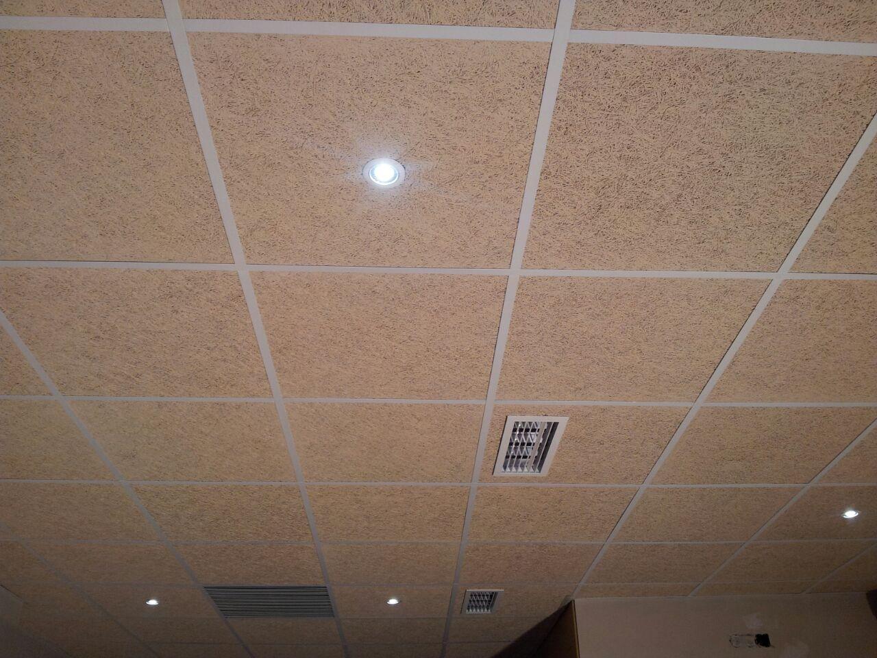 Falso techos cheap alisado de paredes con gotele y falso - Como hacer un falso techo ...