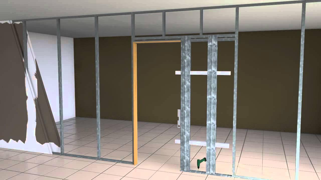 Tabiquer A Y Trasdosados Prefinsa ~ Puertas Correderas Empotradas Pladur