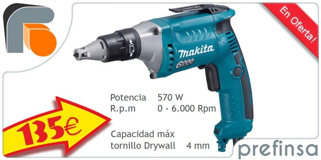Prefinsa-Sevilla-Atornillador-Makita-6000