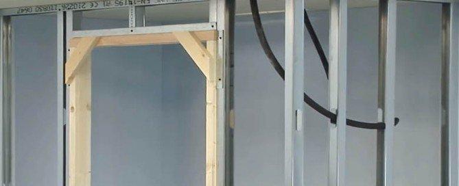 Construyendo un tabique de yeso laminado Pladur: El Bricolaje